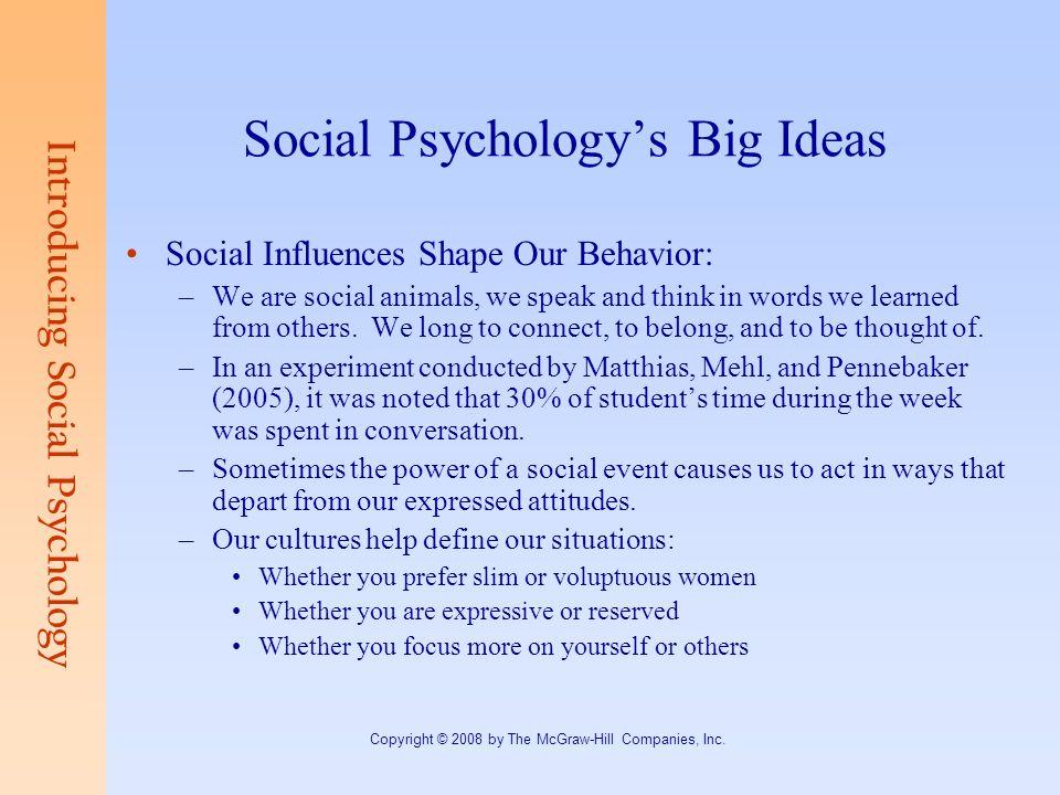 social psychology experiment ideas