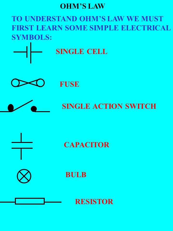 Motor Vehicle Electrics Introducing Ohms Law By Paul Lane Ppt
