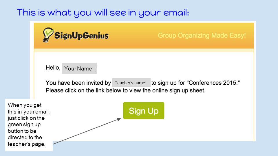 conferences sign up genius new this year conference sign up will
