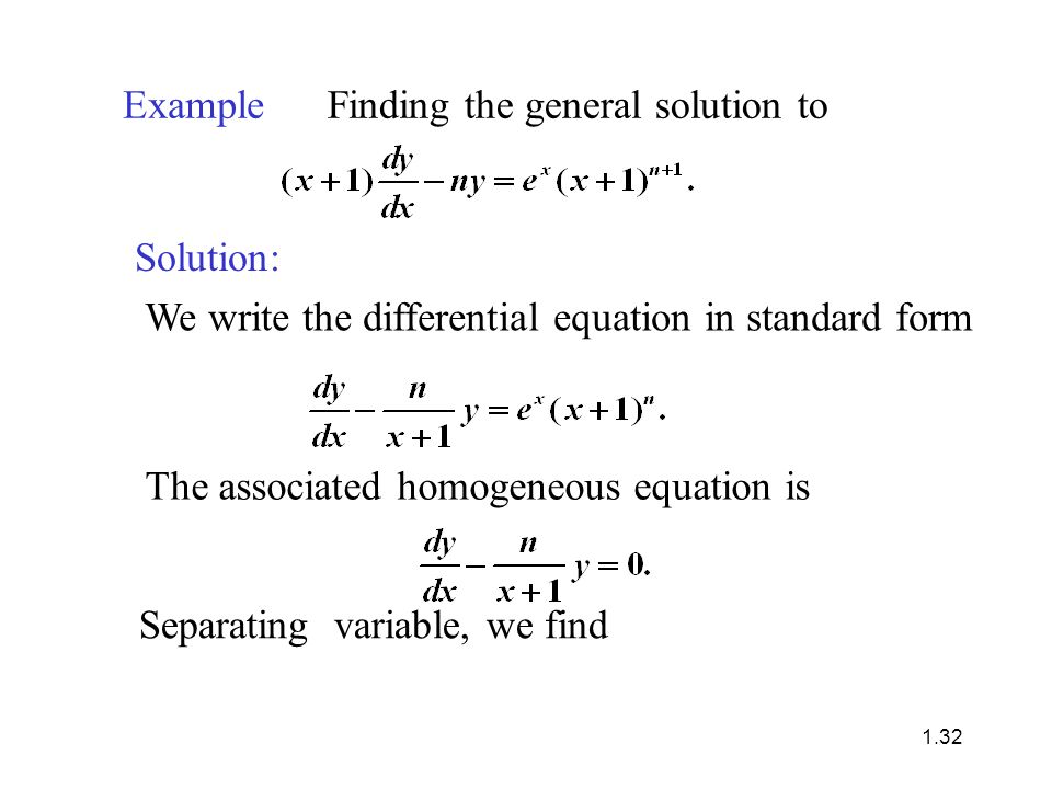 Chapter 1 First Order Differential Equations Shurong Sun University