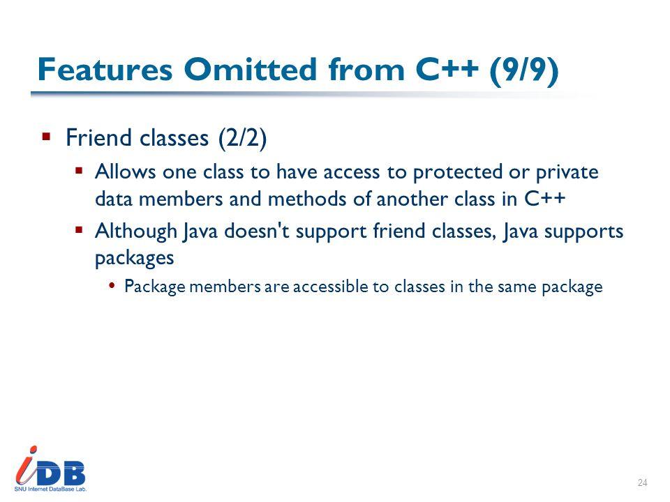 java friend class
