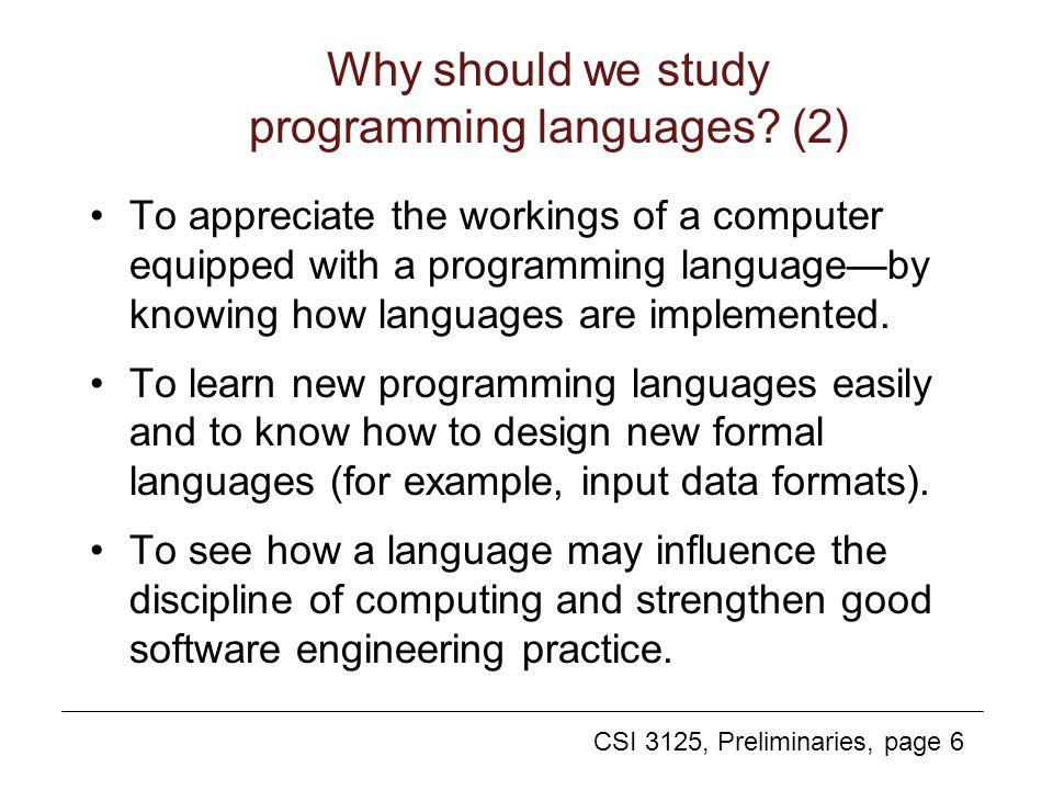 why do we study language