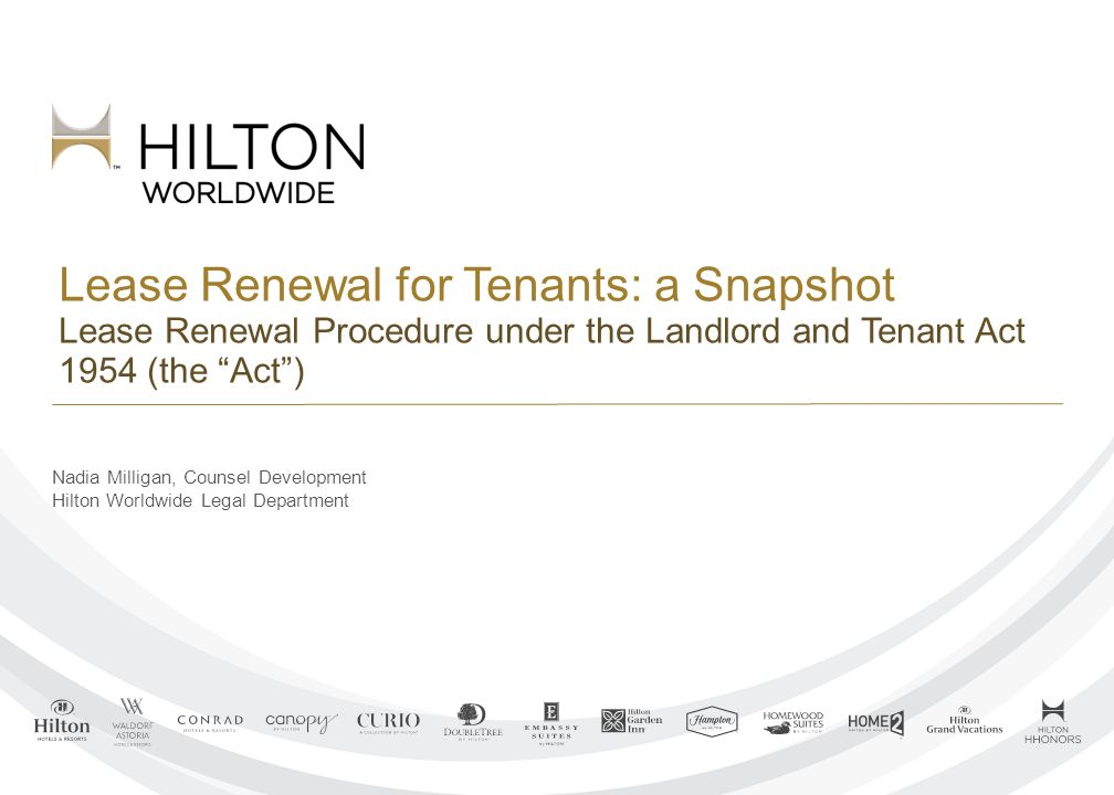 lease renewal for tenants a snapshot lease renewal procedure under