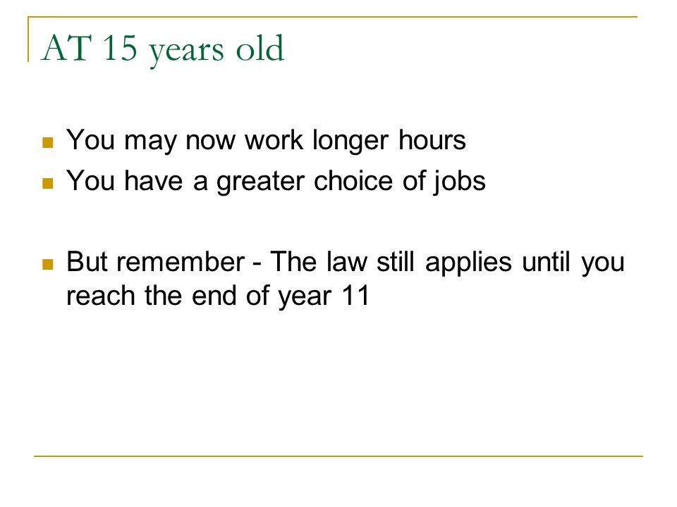 Jobs Near Me Part Time 15 Year Olds