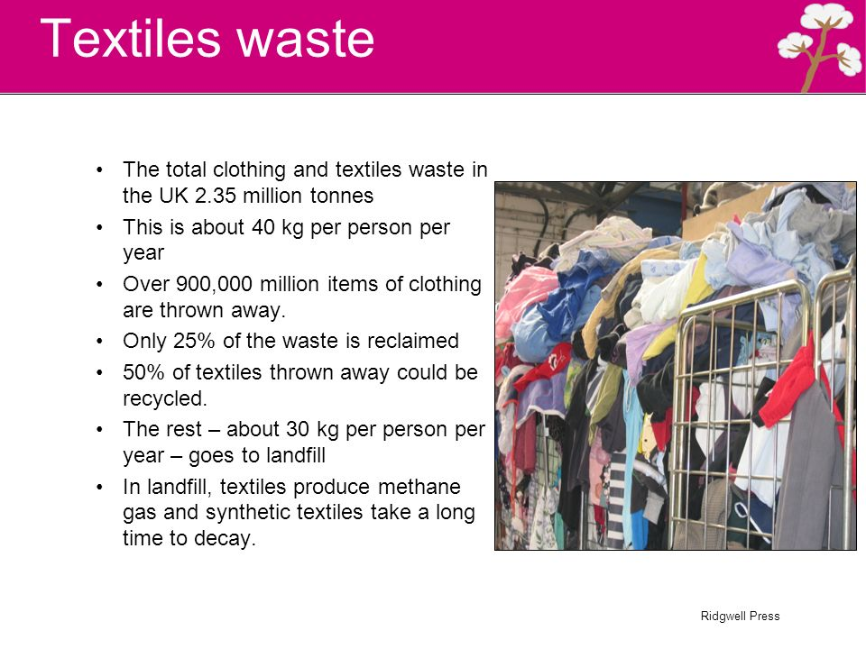 Ridgwell Press Sustainable textile design  Ridgwell Press