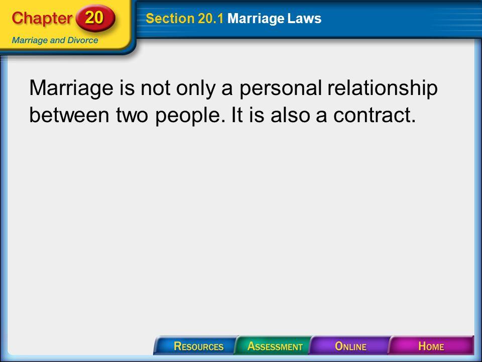 marriage is between two people