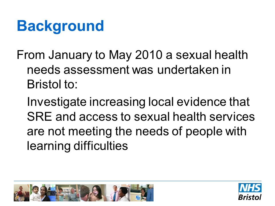 Bristol nhs sexual health services