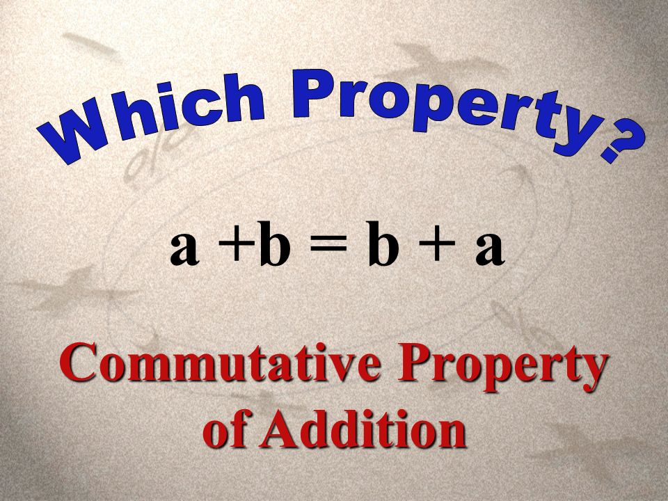 a1 = a Identity Property of Multiplication