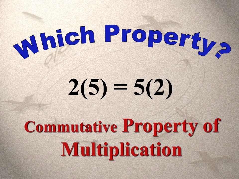 17 + (-17) = 0 Inverse Property of Addition
