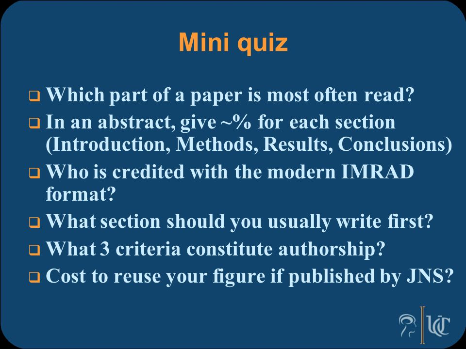 Tips on Writing Your Biomedical Research Paper and New Journal