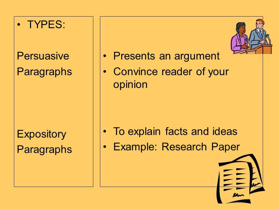define expository paragraph