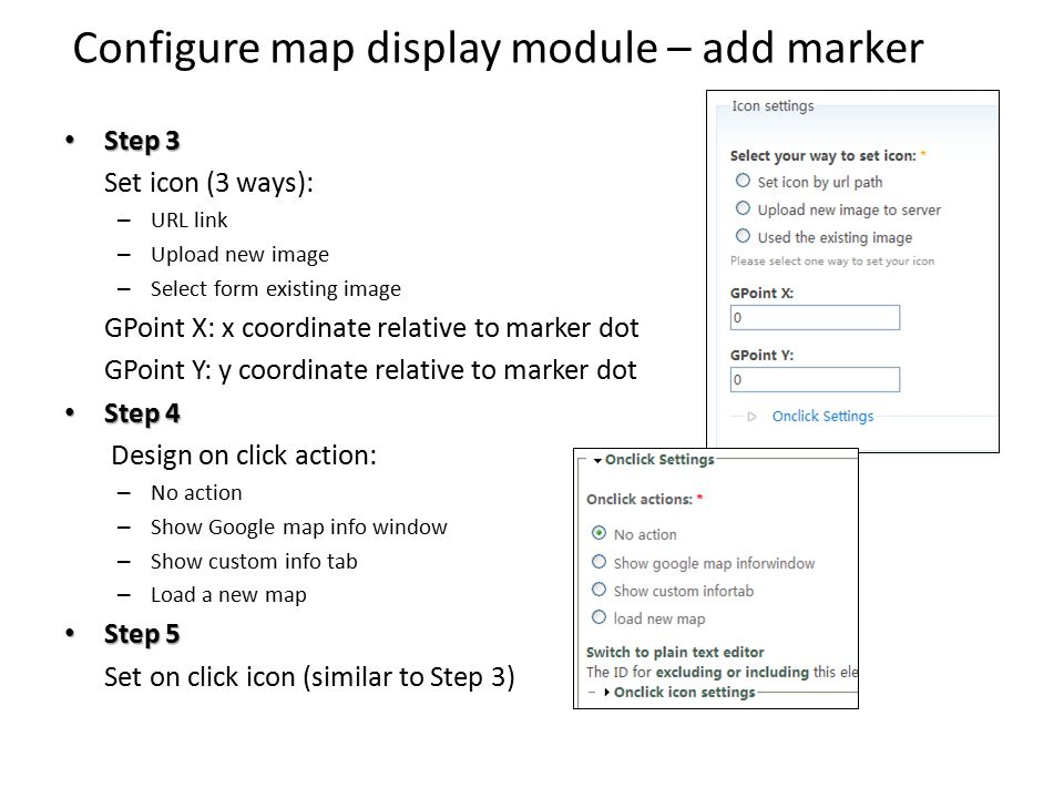 Implementation of Google Map in Drupal Create in Miyula Zeng