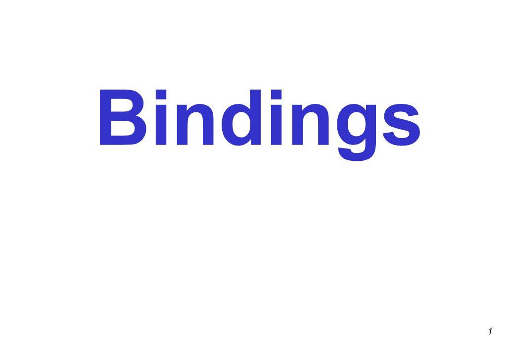 1 bindings 2 outline preliminaries scope block structure