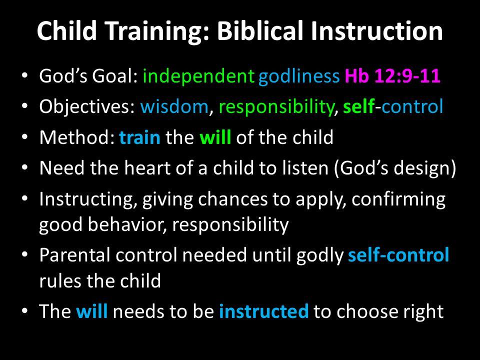 gods rules for children