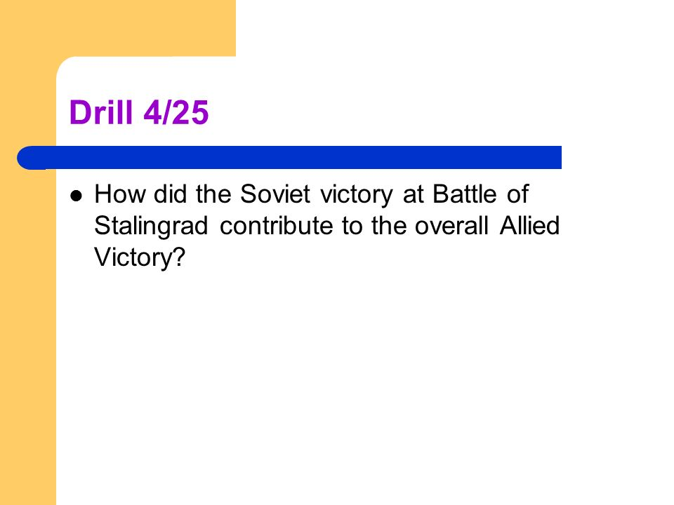 world war ii the fall of the nazis drill 4 25 how did the soviet rh slideplayer com