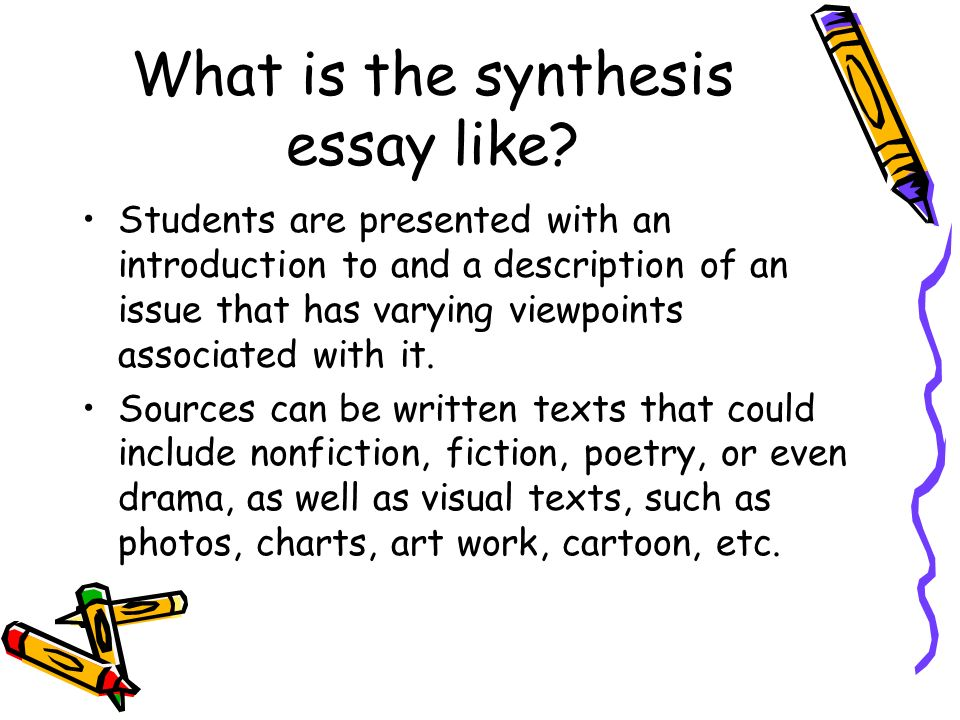 the synthesis essay  from  steps to a  tatum what is the  what is the synthesis essay like
