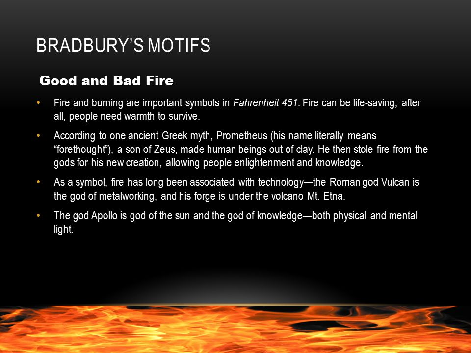 Introduction To Fahrenheit 451 Setting The Time Fahrenheit 451 Is A
