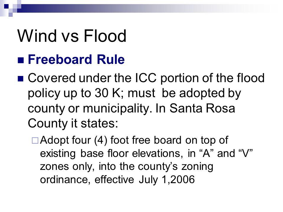 Wind vs Flood John G  Minor, General Contractor Complete