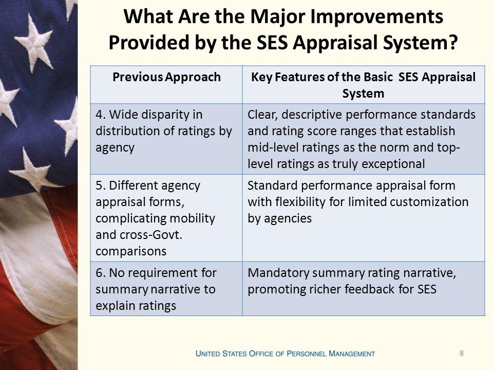 Senior Executive Service Ses Performance Appraisal System Training