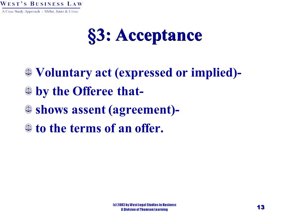 Chapter 10 Contractsagreement 2 Introduction Agreement Offer And