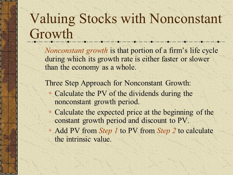 Valuation Concept Part II – Equity Valuation  Valuation of
