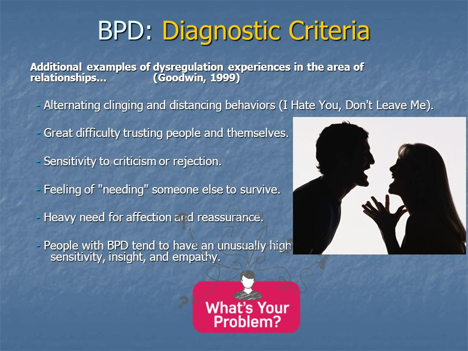 Borderline Personality Disorder in Primary Care Sherie