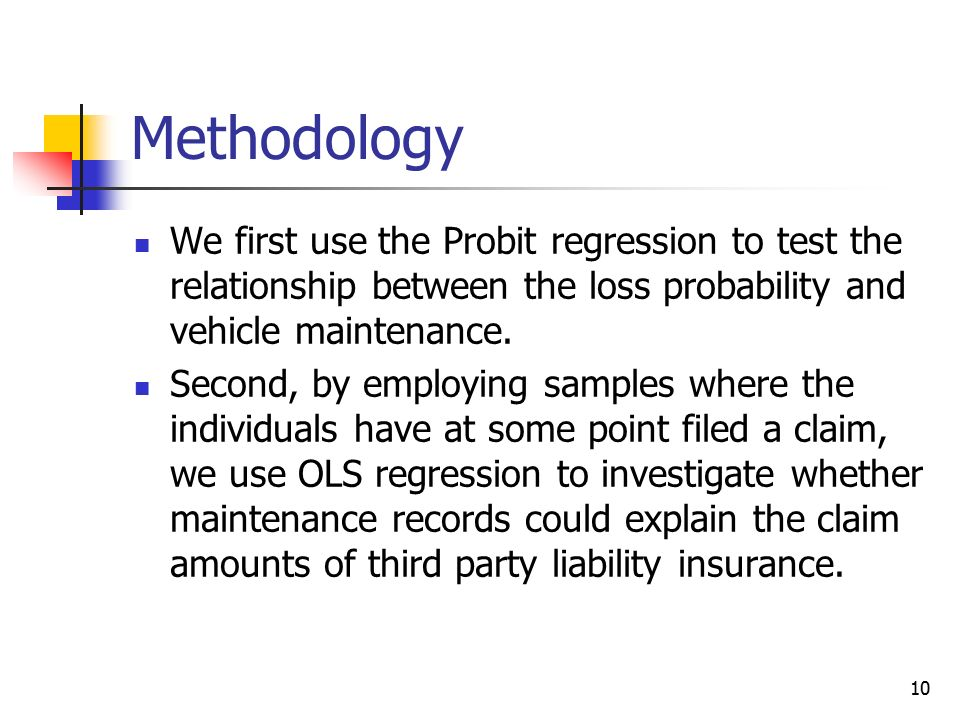 1 can vehicle maintenance records predict automobile accidents shyi