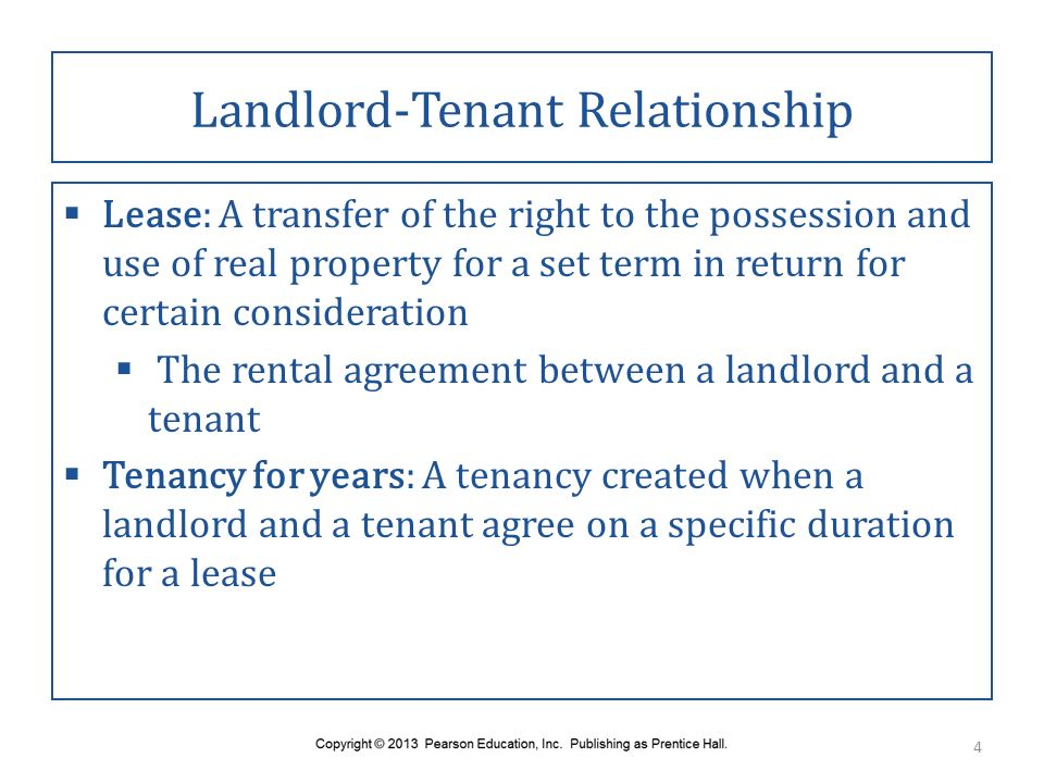 Chapter 49 Landlord Tenant Law And Land Use Regulation Ppt Download