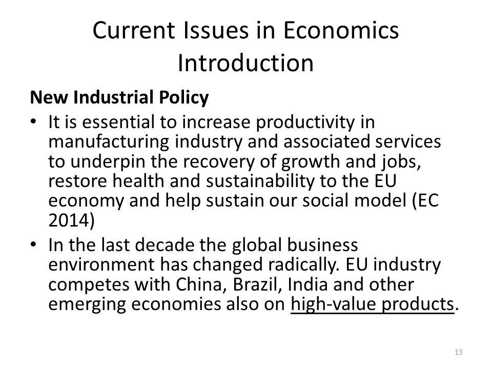 Current Issues in Economics G  T  Jedrzejczak Lecture ppt download