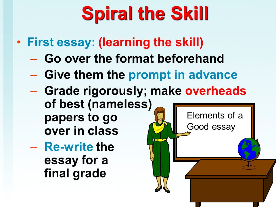 Scaffolding Essay-writing for Rigorous Courses  Science essay