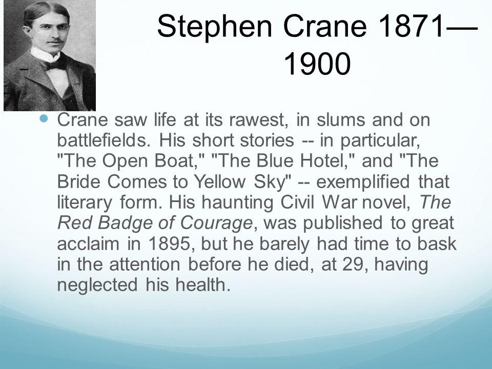 stephen crane the blue hotel summary