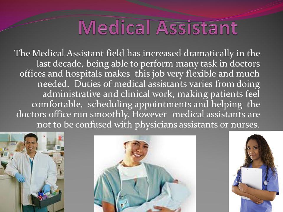 job of a medical assistant