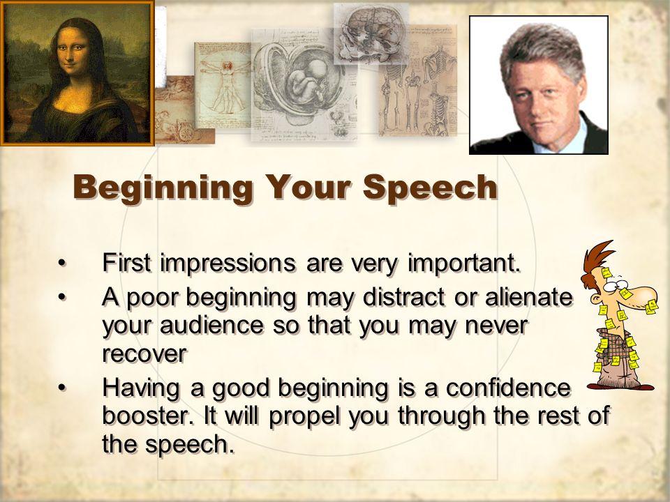 writing a great speech