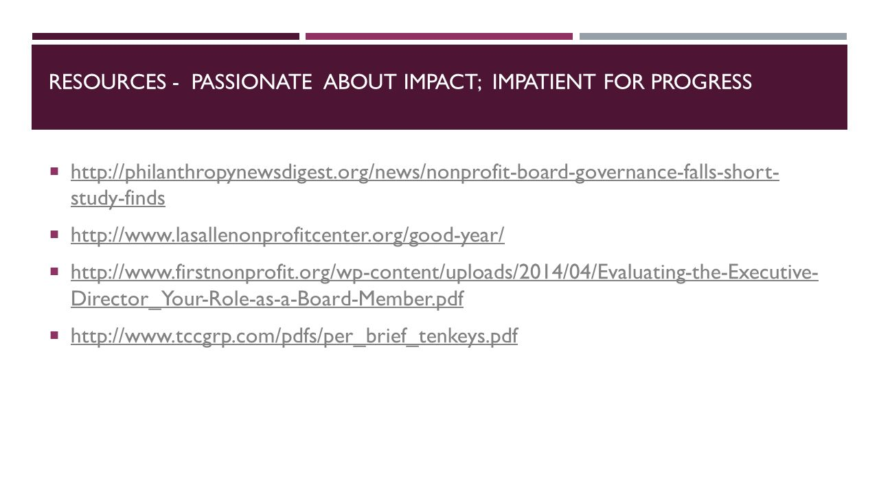 RESOURCES - PASSIONATE ABOUT IMPACT; IMPATIENT FOR PROGRESS    study-finds   study-finds         Director_Your-Role-as-a-Board-Member.pdf   Director_Your-Role-as-a-Board-Member.pdf 