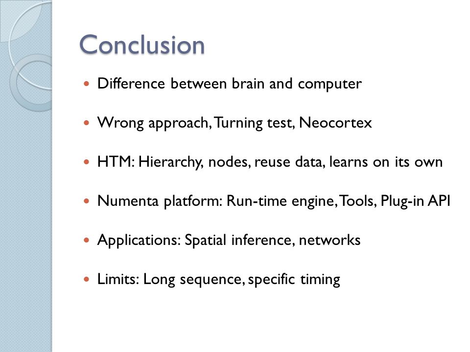 conclusion of computer software