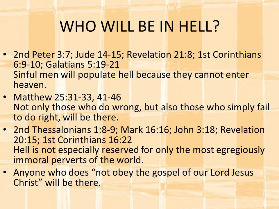 Questions Answered About HELL WHO, WHEN, WHERE, HOW, & WHY