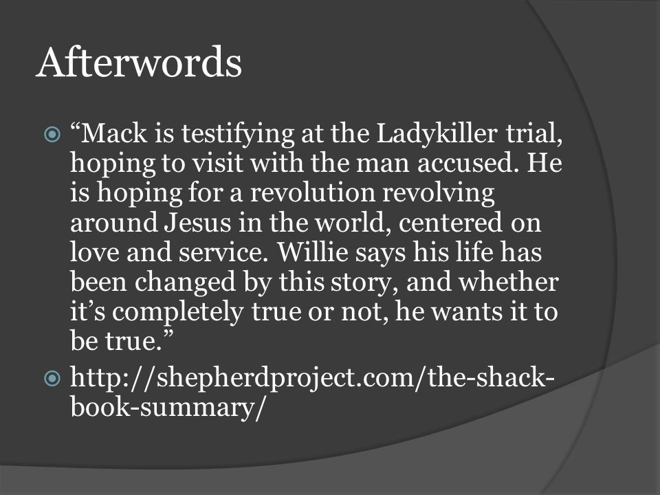 Notes Bios Foreward While Mack S Relationship With God Is