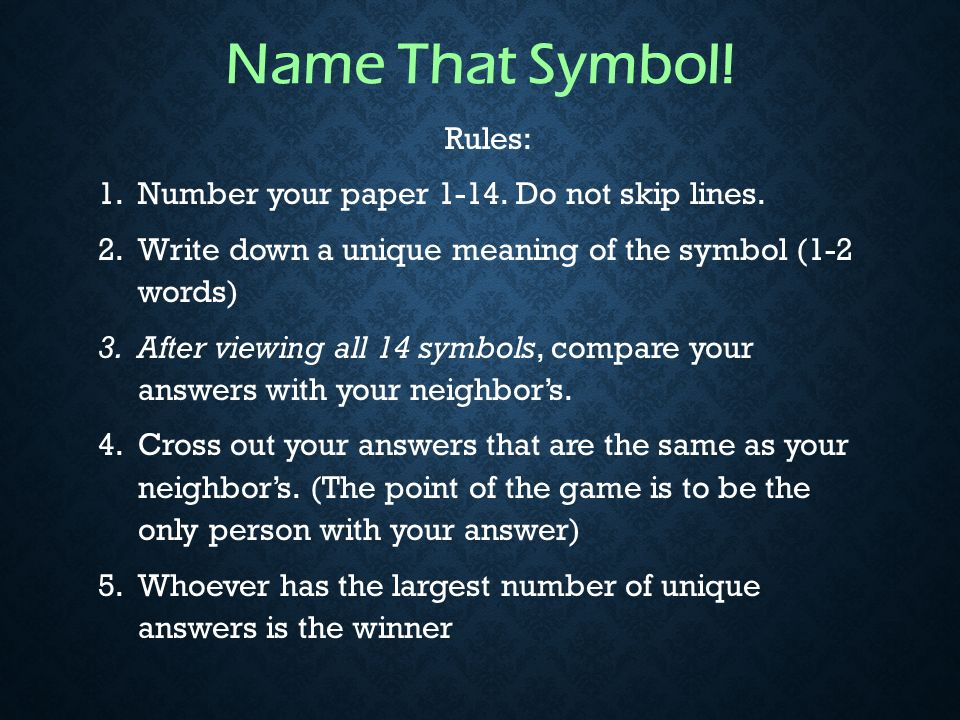 Symbolism How Do We Use Symbols Every Day What Are Symbols A