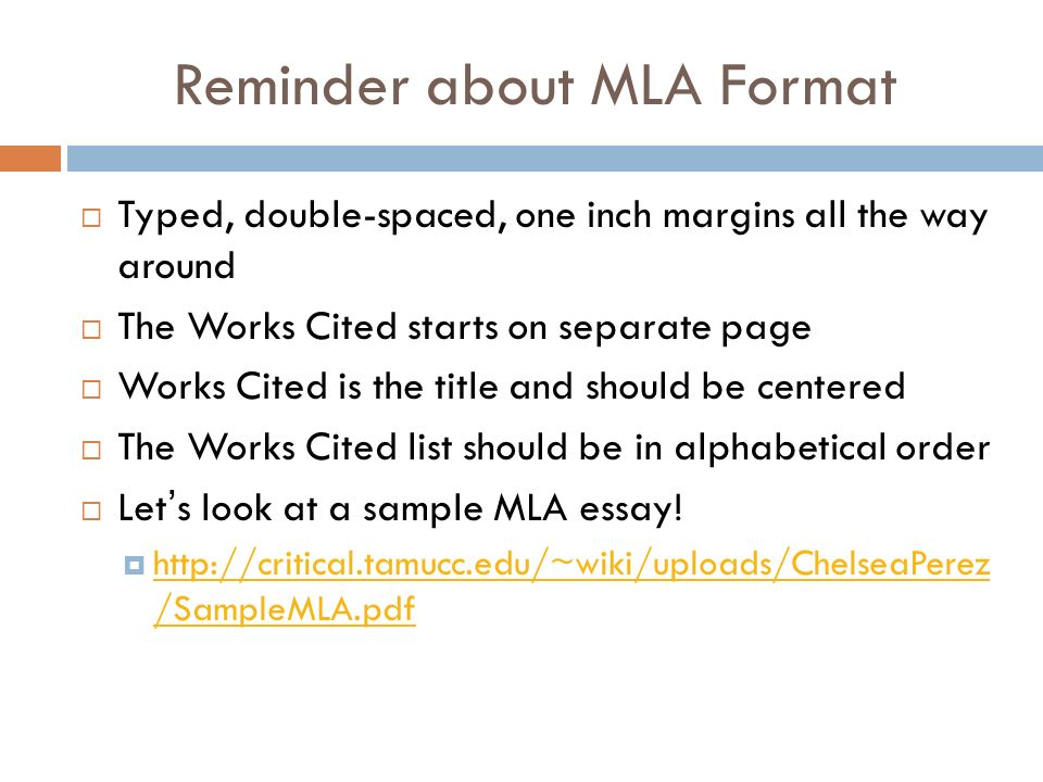 mla documentation workshop the works cited page and parenthetical