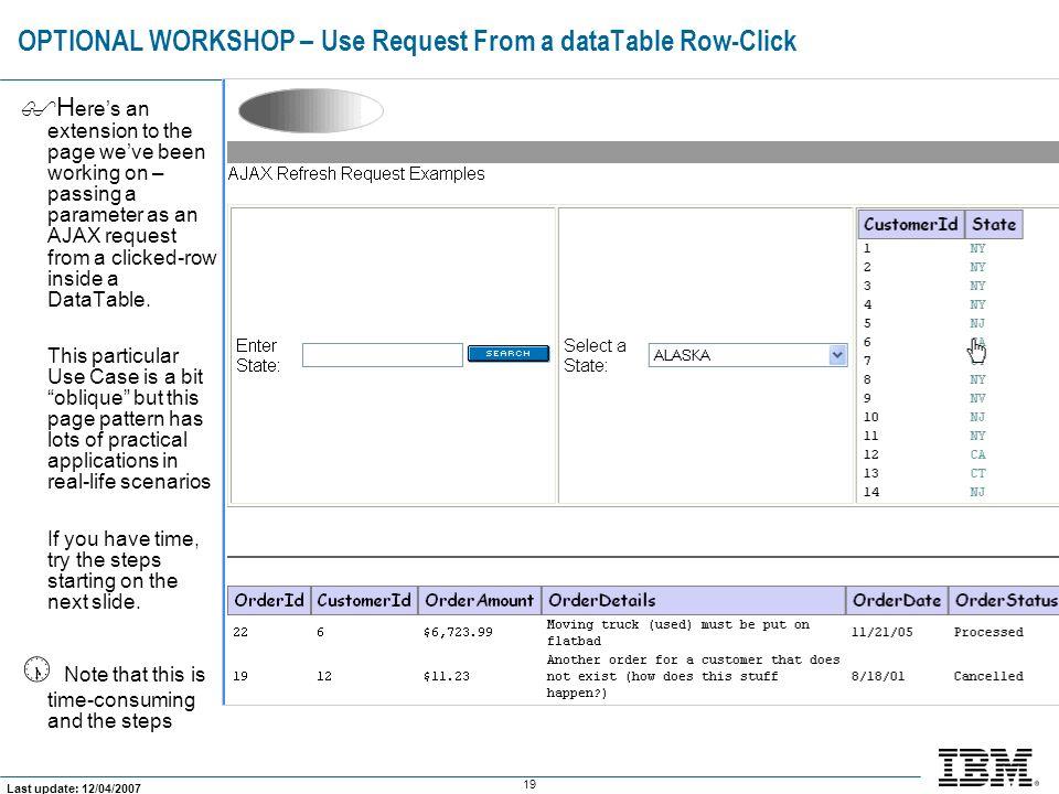 IBM Software Group © 2006 IBM Corporation AJAX-Enabling Your JSF