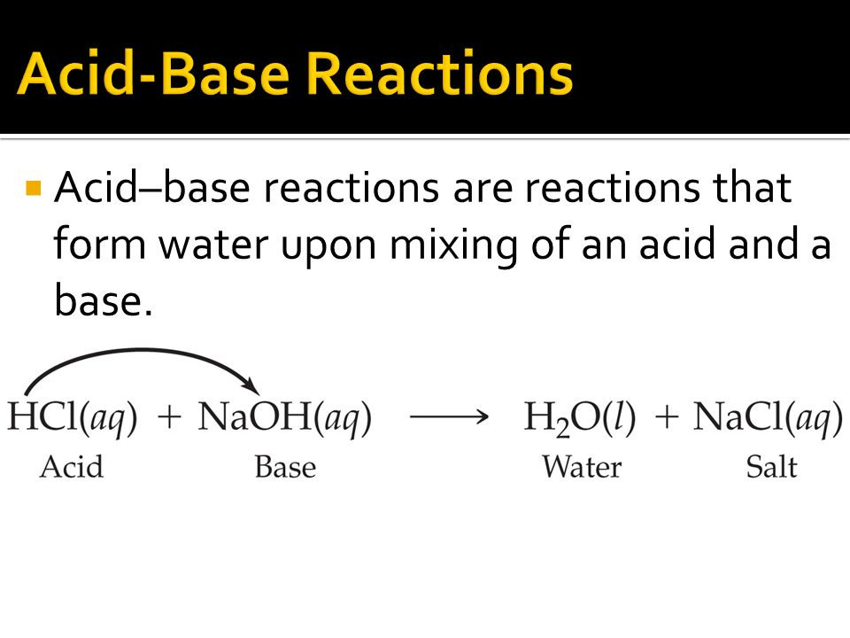 chapter 6 chemical reactions identify and write equations for