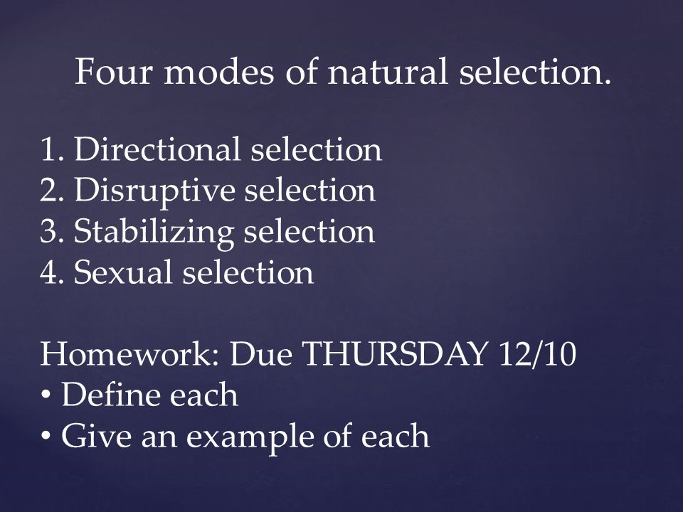 Define disruptive sexual selection