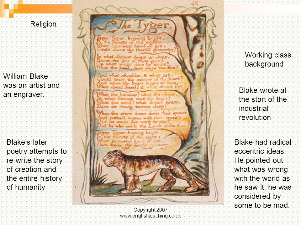 tiger blake poem