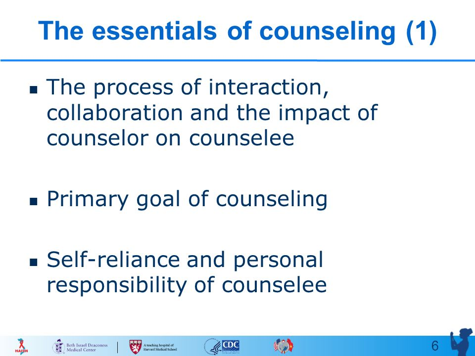 counselor and counselee
