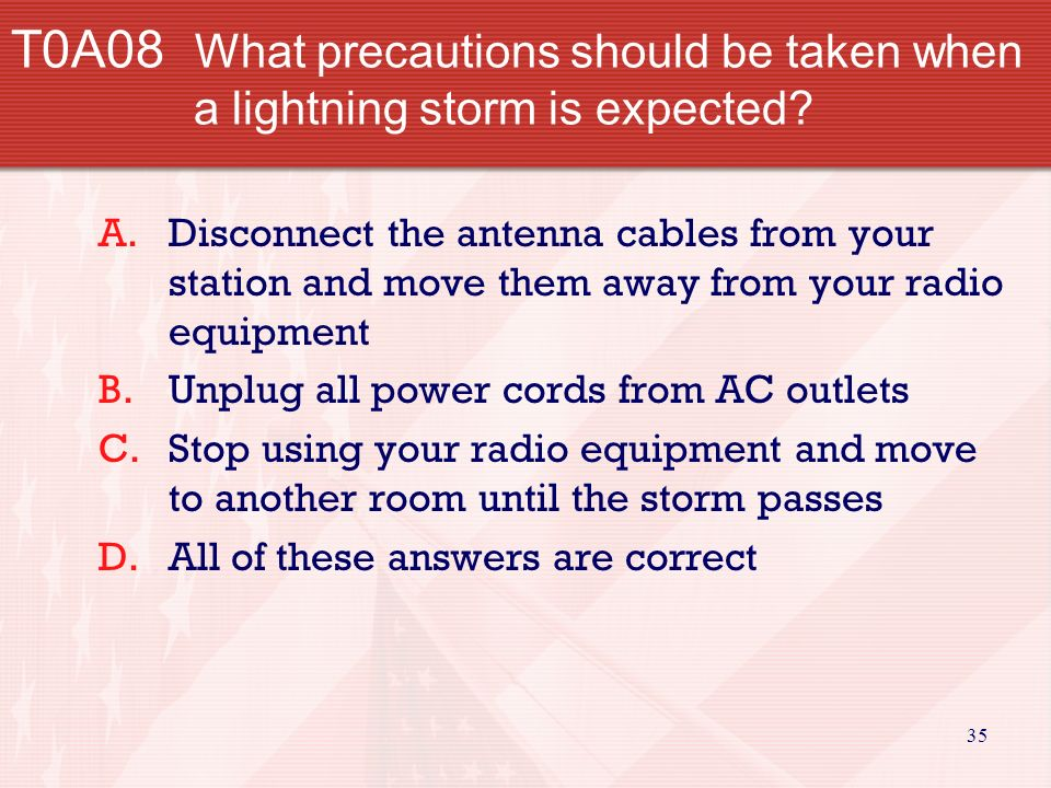 34 T0A07 What is the most important thing to consider when installing an emergency disconnect switch at your station.