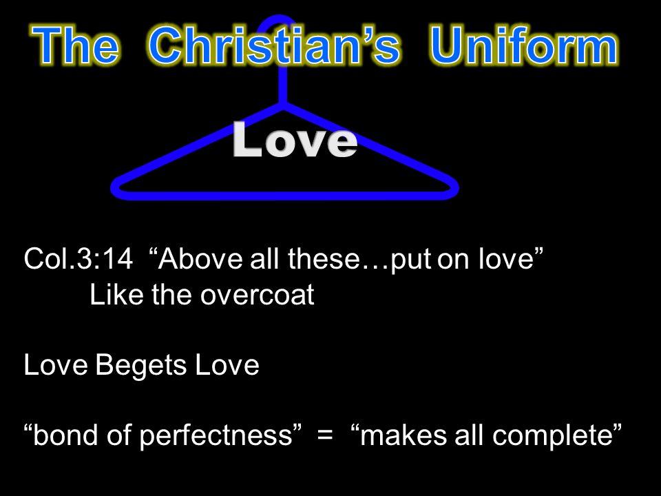 love begets love bible