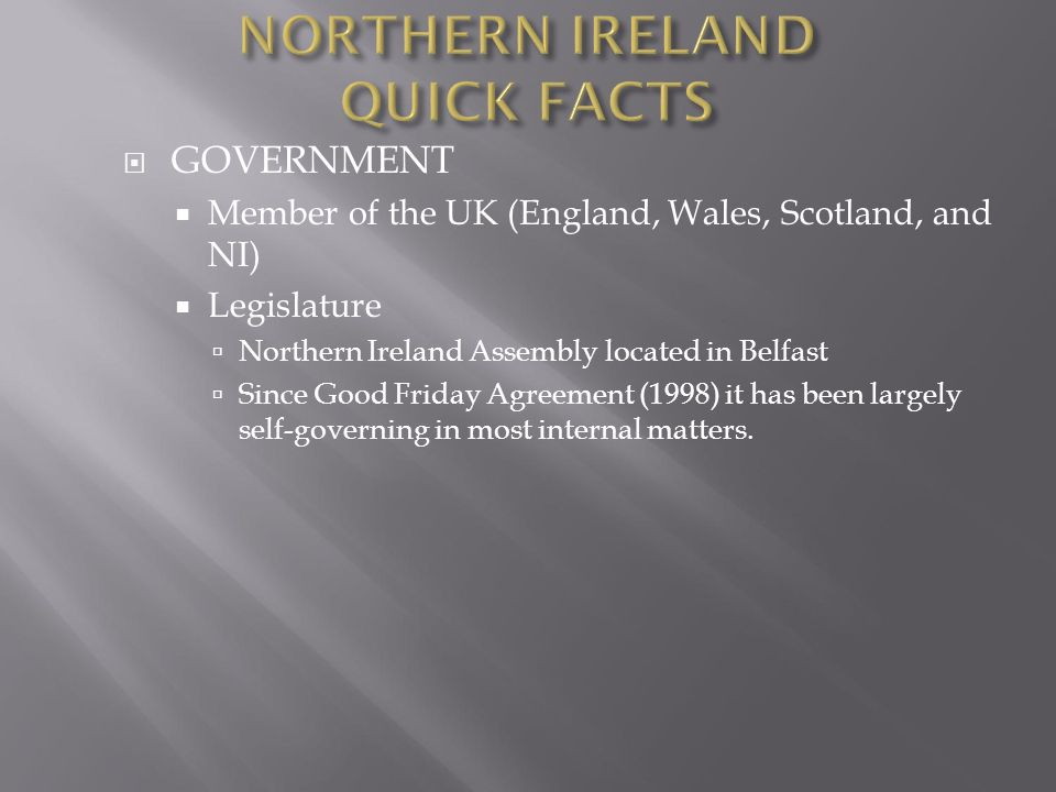 Government Member Of The Uk England Wales Scotland And Ni