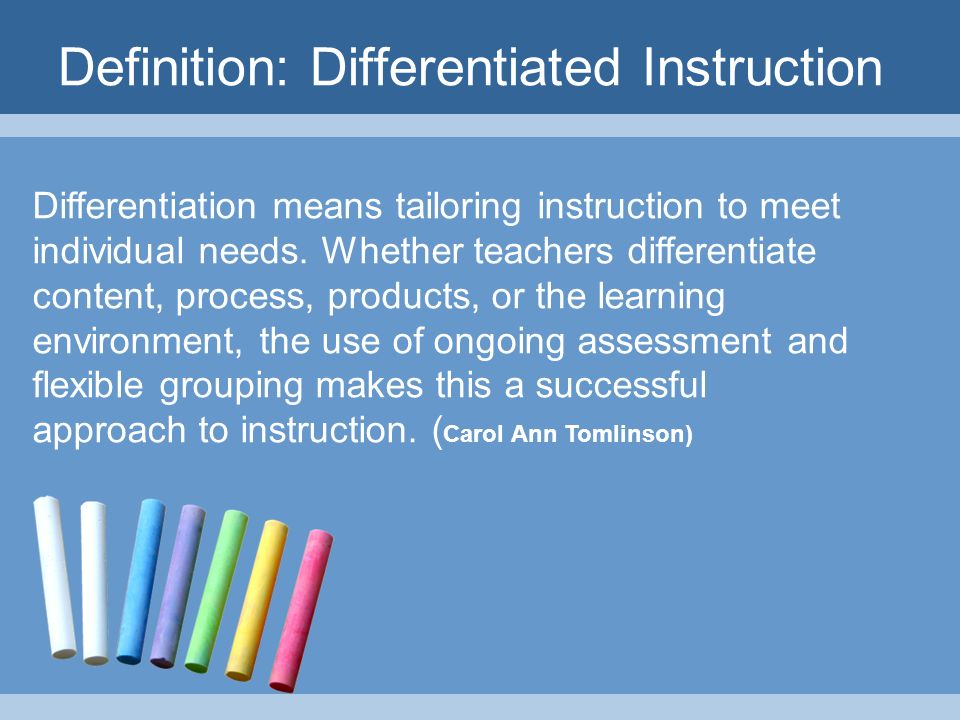 Using Technology To Differentiate Instruction Paula Stephan Program