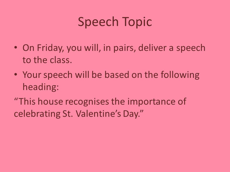 english speech topics for class 10