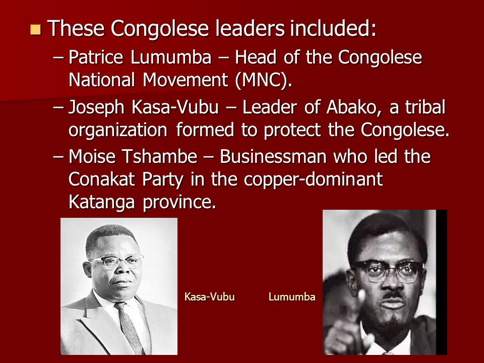 congolese national movement